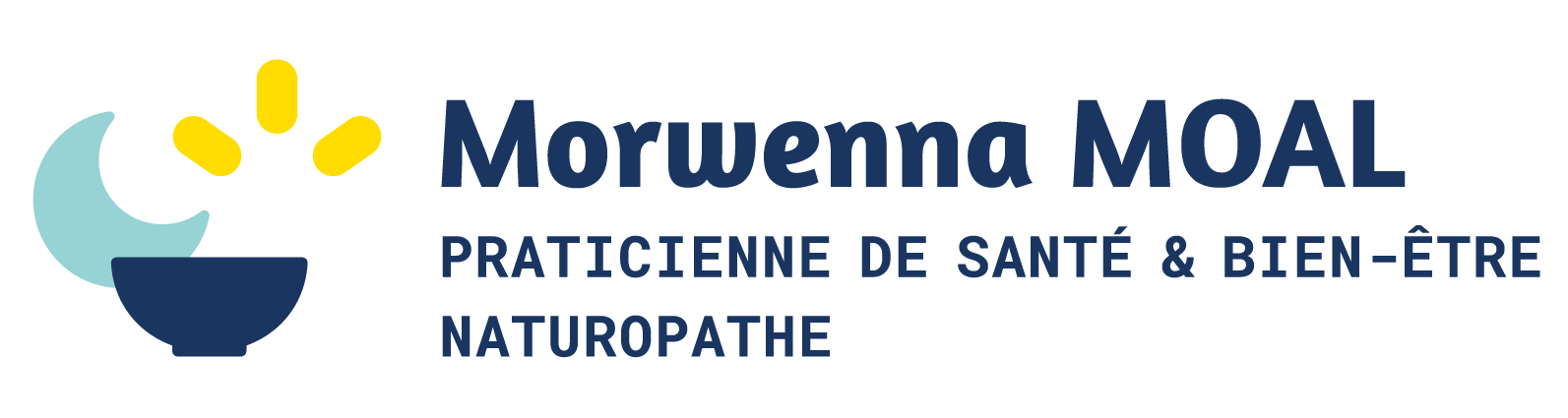 Logo Morwenna Moal naturopathe praticienne santé, Lyon 6