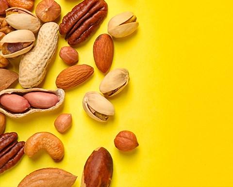 Nutrition, fruits à coque